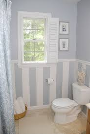 patterned blue bathroom window curtains