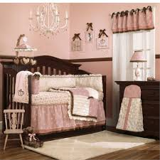 outstanding baby nursery chandelier shining room interior space girly decorated ideas room with dark crib