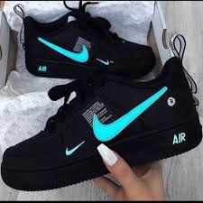 Cool Air Force One Designs Nike Air Force 1 Utility Laser Blue Sneakers Designer Spot