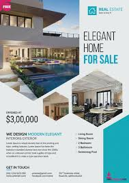 Pictures Real Estate Flyer Template Free Download Brochure
