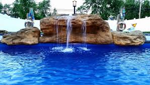 inground pools with waterfalls and slides. Full Inground Pool Waterfalls For Swimming Universal Rocks Pools With And Slides A