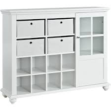 Amazoncom Ameriwood Home Reese Park Storage Cabinet White