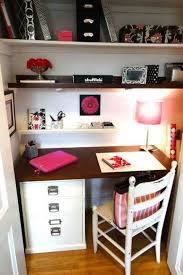 small closet office ideas. small closet office ideas wood that matches rest of room to make desk shelf