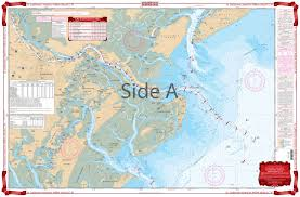 Lake St Catherine Depth Chart St Catherines Sound To Hilton Head Icw Navigation Chart 97