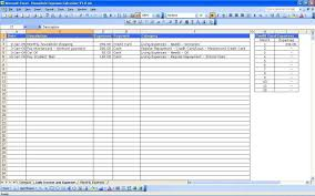 Excel Spreadsheet Templates For Tracking Training Excel Spreadsheet Template For Expenses Monthly Budget Excel With