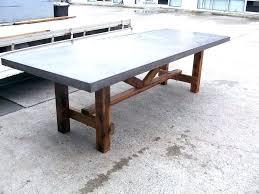 concrete outdoor table bunnings diy top