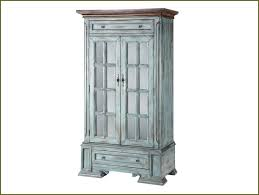 Rustic Tall Storage Cabinet With Glass Doors And Drawers of Cool