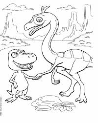 Small Picture Best Dinosaur Train Coloring Pages Photos New Printable Coloring