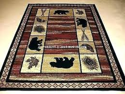 beach themed kitchen rugs creative tropical fish printing carpet area for home living rug lodge cabin