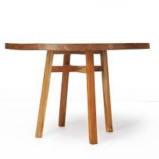java farmhouse round dining table reclaimed teak