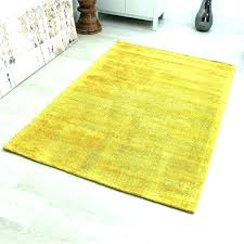 yellow kitchen rug rugs mustard red lemon print