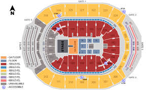 Air Canada Centre Seating Chart With Seat Numbers Places