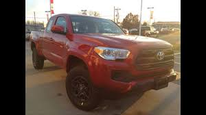 2017 Toyota Tacoma Access Cab 4 Cyl 4WD Review / 1000 Islands Toyota ...