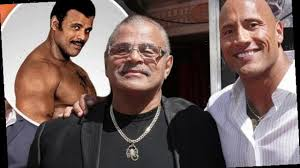 Rocky Johnson, WWE Hall of Famer and dad of Dwayne Johnson ...