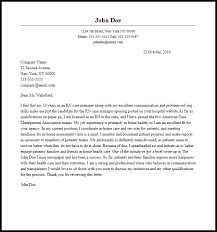Nursing Instructor Cover Letter Examples nurse cover letter Samples