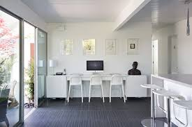 long desks for home office. Triple Seated Home Office Area. This Area Is A Great Addition Long Desks For