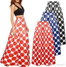 Long Skirt Patterns Magnificent Patterns Maxi Skirt Women Fashion Satin Flared Long Skirt Vintage