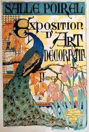week   amp   comparison and contrast essay    lydia boboaffiche pour l     exposition d    art decorative       camille martin