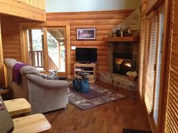 Log Cabin Living Room Stunning Amethyst Mist Log Cabin Gatlinburg Wifi Hot Tub Sauna