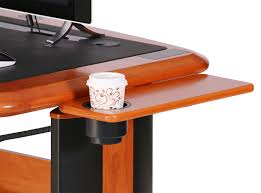 wellston side shelf with cup holder