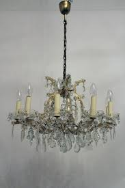 vintage 12 light maria theresa style crystal chandelier from lobmeyr for at pamono