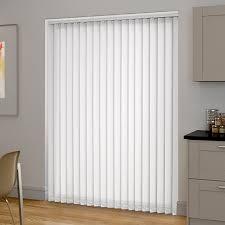 blackout vertical blinds.  Vertical Sevilla Tranquility White Vertical Blind On Blackout Blinds