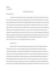 rite of passage essay rohan sheikh professor wendy white  2 pages lastpaper