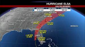 LIVE UPDATE: Elsa regains hurricane ...