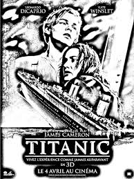 Free Coloring Page Coloring Movie Titanic