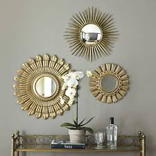 mirror sets wall decor sunburst awesome projects the art gallery wall decor mirror sets