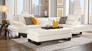 captivating rooms to go sectional leather white sofa