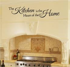 For Kitchen Wall Art The Kitchen Is The Heart Of The Home Wall Art Over Stove