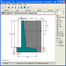 Small Picture RetainWall retaining wall engineering design software