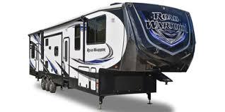 road warrior toy hauler fifth wheel series m 425 specs
