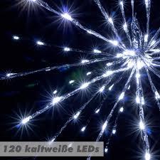Günstig Nipach Gmbh 120 Led Meteor Stern Leuchtfarbe Weiß