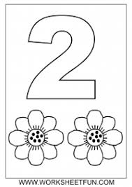 Small Picture Number Coloring Pages 1 10 Worksheets FREE Printable