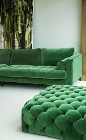 Low Seating Furniture Living Room 25 Best Ideas About Green Sofa On Pinterest Velvet Sofa Velvet