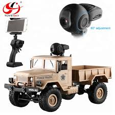 Fy001a 2.4ghz 1/16 4wd Off-road Wifi Rc Pickup Truck 4x4 With Front ...