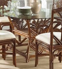 rattan dining room set. amazon.com - indoor rattan \u0026 wicker rectangular dining table tc antique tables room set i