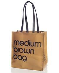 Bloomingdale s - Medium Brown Bag - 100% Exclusive ...