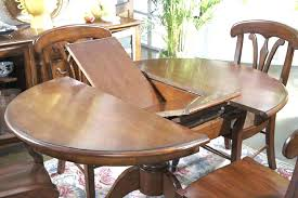 expanding round table round table that expands cherry inch round expandable dining table small round dining expanding round table