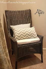 The 25 best Painting wicker furniture ideas on Pinterest