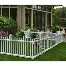 white wire garden fence. Fence. Contemporary Fence Zippity Outdoor Products 25 Ft H X 5 W Madison No Dig Garden White Wire