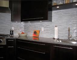 modern kitchen backsplash glass tile. Beautiful Backsplash Espresso Kitchen With Glass And Marble Mosaic Tile Backsplash Contemporary  Design Modern O