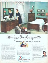 Mengel Furniture Company Advertisement Gallery
