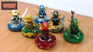Trọn bộ 6 anh em Lego Ninjago đồ chơi trẻ em - brick toy for kids - YouTube