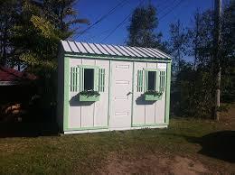 timber garden shed garden envi