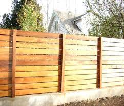 Horizontal Fence Kits Horizontal Fence Gate Fence Horizontal Board