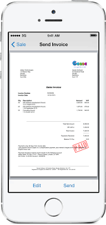 Receipt Maker App Pdf Invoicing For Ipad Iphone And Mac Easyinvoice