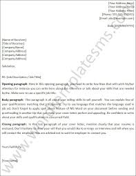 Free Cover Letter Template Word | Trattorialeondoro